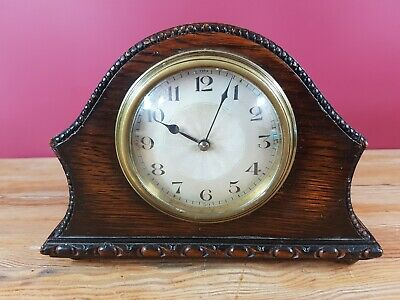 Japy Freres Small Mantle Clock For Restoration