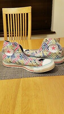 Ladies Girls Women Converse All Star High Top  Canvas Trainers UK Size 6