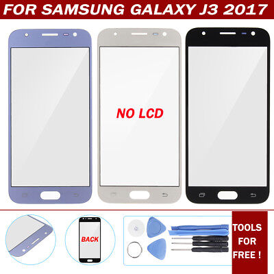 Touch Screen Digitizer Outer Front Glass Lens + Tool For Samsung Galaxy J3 2017