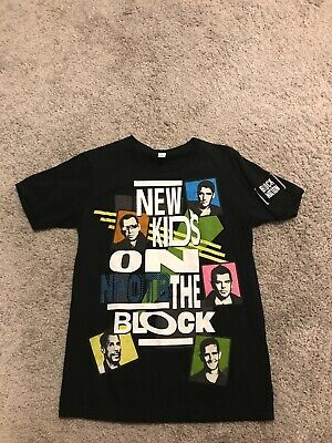 New Kids On The Block! Block Nation T Shirt Small! Brand New!