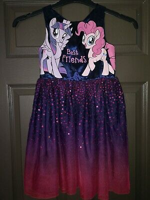 Girl's My Little Pony Party Dress From H&M Age 6-7 Years
