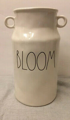 RAE DUNN BLOOM FLOWER VASE Milk Can Canister *FREE SHIPPING*