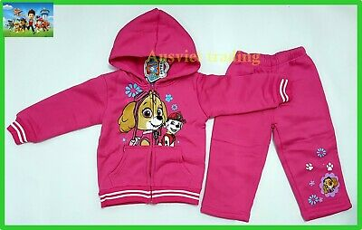 Brand new PAW Patrol Track Suit Hoodie Top 2pc jacket and pants girls tracksuit