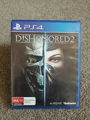 Dishonored 2 PS4 Game Sony PlayStation 4 #30 Day Warranty#