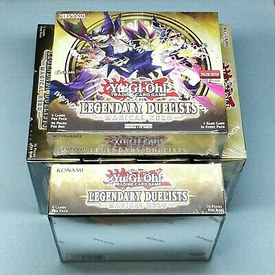6x Yugioh Legendary Duelists Magical Hero 1st Ed Booster Boxes Half Case LED6