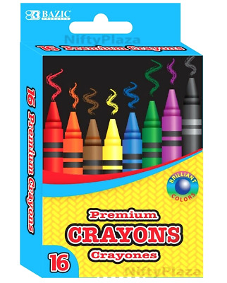 Huge Bulk THE TWIDDLERS 144 Boxes of Coloured Wax Crayons 4 Crayons each box