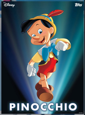 2020 ENCHANTED TRANSFORMATION PINOCCHIO Topps Disney Collect