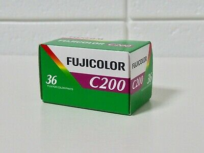 【NEW】 Fuji C200 Film Fujicolor 35mm Colorful Fujifilm 36 Exp 2021