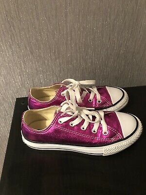 Converse Size 12 All Star Chuck Taylor, Worn Twice Girls