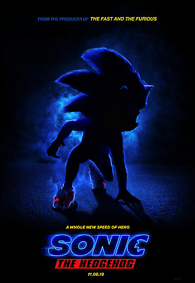 Sonic the Hedgehog 8.5 x 11 Glossy Mini Poster Picture Live Action Movie Film