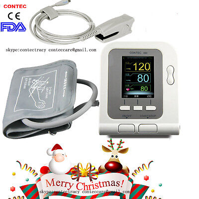 FDA Automatic Digital Blood Pressure Monitor Heart Beat Rate Pulse Meter,probe