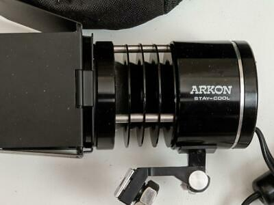 Stay Cool Arkon Video Light with Portable Power Pack and charger