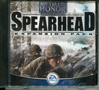 Medal Of Honor Spearhead expansion pack PC/ROM