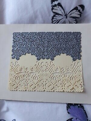 tattered lace die of fancy panel