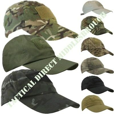 VIPER ELITE BASEBALL HAT RIPSTOP ID PANEL CAP ARMY CAMO OPERATOR TACTICAL SPORTS