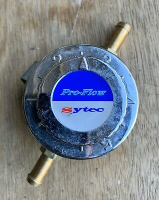 Sytec Pro-Flow Carburettor Fuel Pressure Regulator - Used