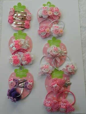 girl/baby/infant/small/mini/med hair clips/ slides bunny flower easter summer