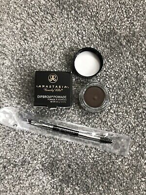 Anastasia Beverly Hills Dipbrow Pomade Medium Brown FREE #7 Anastasia Brush New