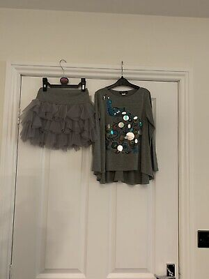 Kate Mack Stunning Top And Tutu Skirt Age 6 Yesrs