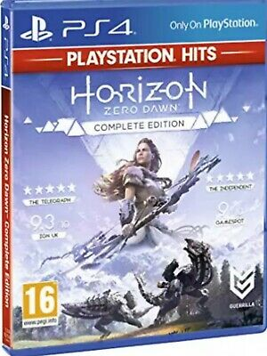 Brand new sealed Horizon Zero Dawn PS4 Complete Edition - free tracked post