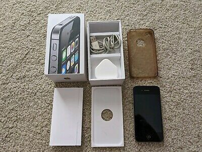Apple iPhone 4s - 8GB - Black (Unlocked) A1387 - Very Good Condition