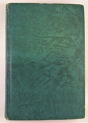 Last of the Mohicans James Fenimore Cooper Art Type Edition Book 1940's