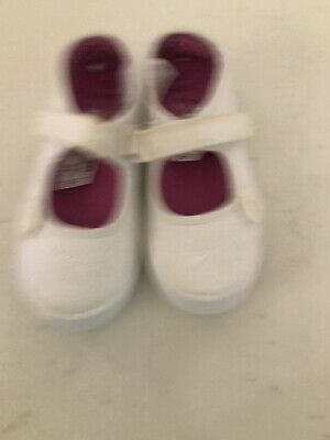 Girls white shoes from next, Velcro fastening, new with tags, UK Infant size 12