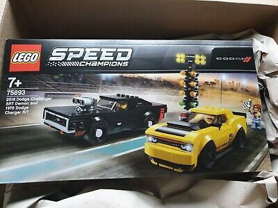 Lego Speed Champions 2018 Dodge Challenger SRT Demon and 1970 Dodge Charger R/T…