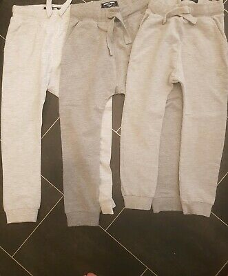 Next Boys Joggers x 3 Age 5-6 Brand New