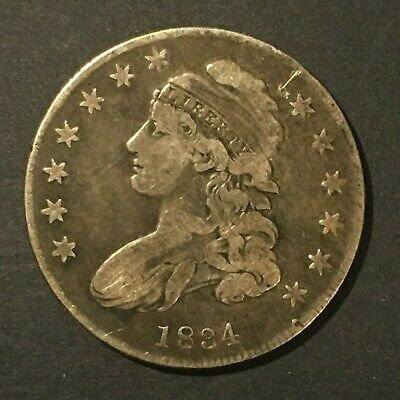 1834 Capped Bust - 50 Cent