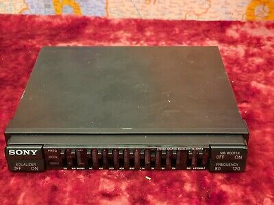 VINTAGE  Sony XE-90MK2 9 Band Graphic Equalizer