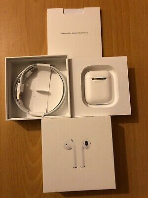 Apple AirPods 1st Generation with Charging Case -  Mint Condition - % Genuine