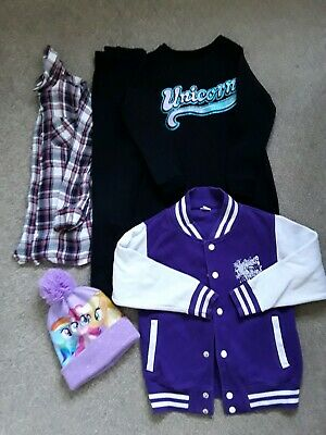 Girls Bundle Of Mixed Clothes Age 8/9 Yrs