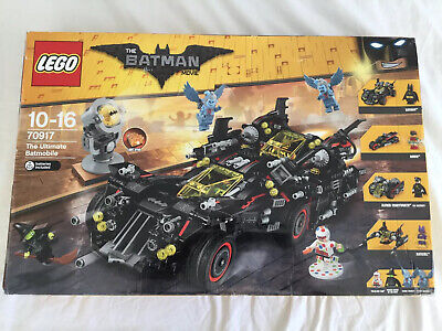Lego Batman Movie 70917 The Ultimate Batmobile 100% Complete and Boxed