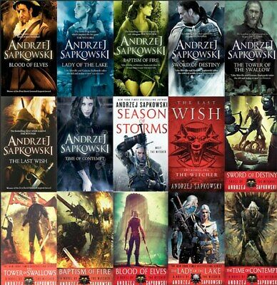 The Witcher Novels by Andrzej Sapkowski Book series  ✔️Digital Version✔️