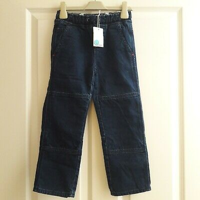 Mini Boden Boys Indigo Blue Carpenter Jeans Age 5 Years Brand New With Tag