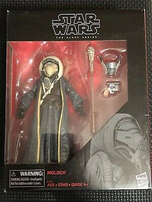 "Hasbro Star Wars The Black Series Moloch 6"" Collectible Action Figure-EXCLUSIVE"
