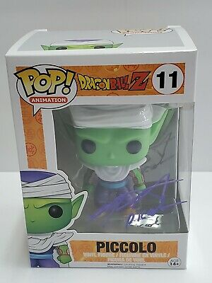 Dragonball Z Super Piccolo Funko POP! Signed by Chris Sabat Autograph