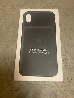 Brand New & Sealed Genuine Apple iPhone XS Max Smart Battery Case - Black