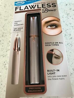 JML Finishing Touch Flawless Brows Trimmer - Blush Edition