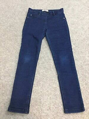 NEXT Girls Dark Blue Jeggings. Age 9 Years. Immaculate Condition