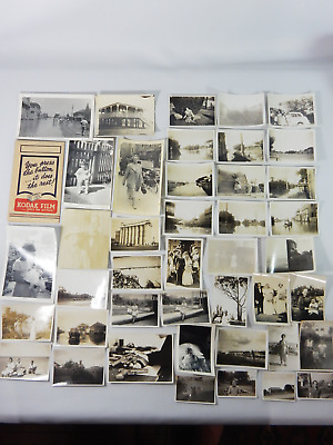 Antique Vintage Bulk Job Lot Photos Postcards Australian Black White Collection