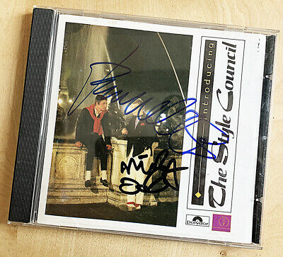 PAUL WELLER SIGNED CD 'Introducing The Style Council' SIGNED BY WELLER & TALBOT