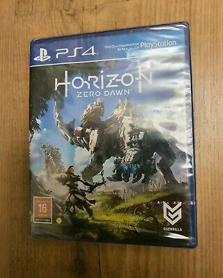 Horizon Zero Dawn PS4 Game Sealed Bundle Standard Edition BRAND NEW RRP £39.99