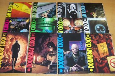 Dc Comics Doomsday Clock 1-12 Full Set Geoff Johns 2018/19