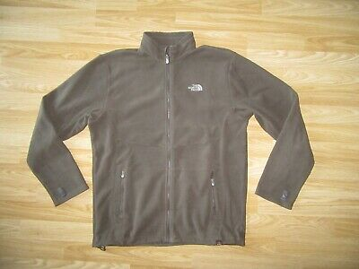 THE NORTH FACE Mens Zipped Green Fleece Lining / Separate Jacket L Large GREAT!