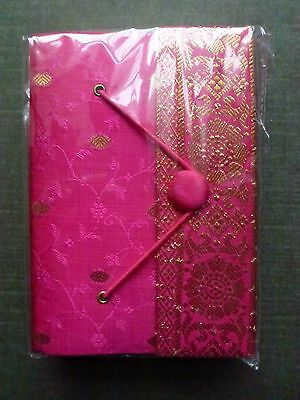 Pretty Paper High Sari Covered Eco Friendly Journal Notebook  BNWOT