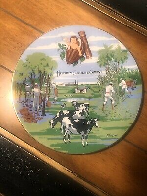 Hershey Chocolate Company Commemorative Numbered Plate