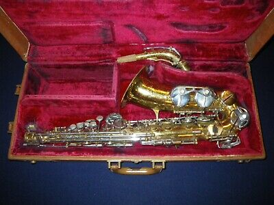 LEBLANC NOBLET ALTO SAXOPHONE - MADE IN FRANCE by BEAUGNIER - for repair/restore
