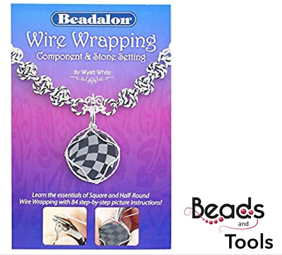 Wire Wrapping Component and Stone Setting - Learn how to wire wrap with ease